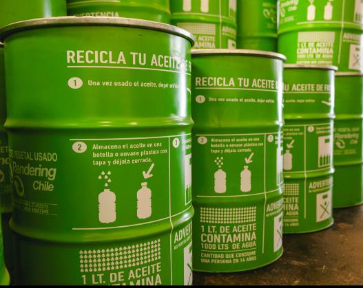 Reciclaje de aceite en nuestra comunidad